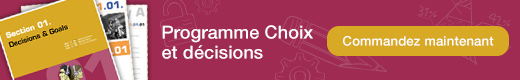 Choices and Decisions Curriculum
